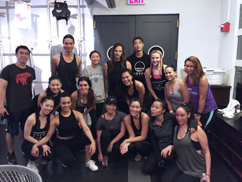 group fitness, workout class, studio, astor place, cyc fitness