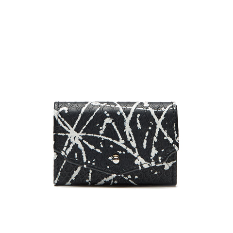 Covry-Splatterbox-Womens-Mens-Black-Fashion-Coin-Business-Card-Case-Gift