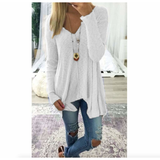 Womens V Neck Street Style Top