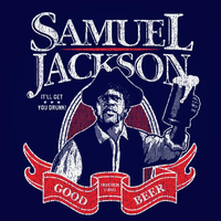 Samuel Jackson Beer Men's T-Shirt