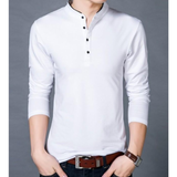 Mens Stand Collar Top