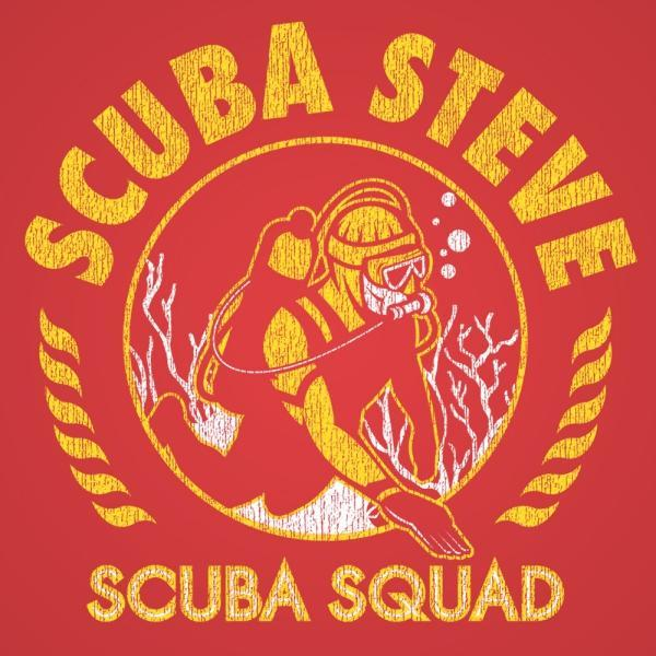 Scuba Steve Dive Squad Men's T-Shirt