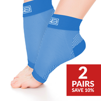 Ankle Sleeve 2 Pair Blue