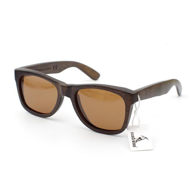 So Smooth - Bamboo Wood Sunglasses
