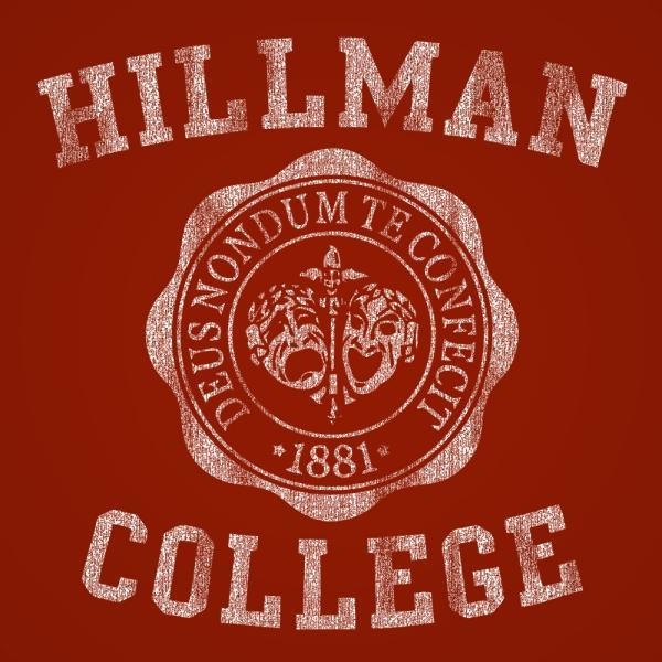 Hillman College Emblem Men's T-Shirt