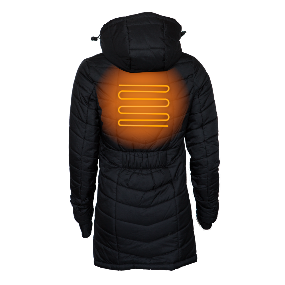 Delphyne Womens 5 Zone Heated Jacket