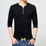 Mens Casual Top with Buttons