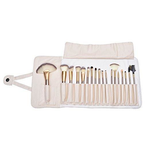 18 pcs Premium Wood Handle Make up Brush Set