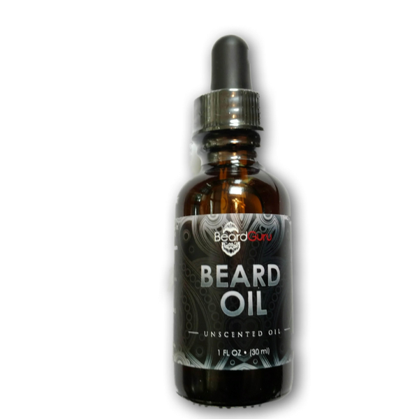 BeardGuru Premium Beard Oil:  Unscented