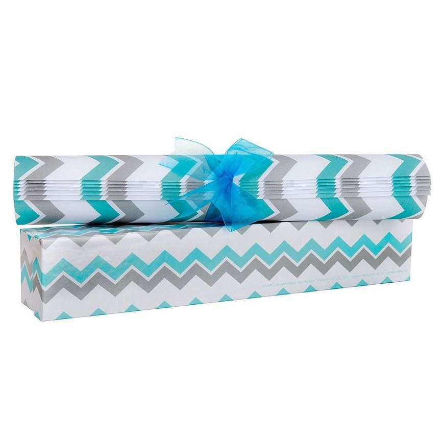 Blue Paradise Scented Drawer Liners
