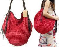 Big Straw Beach Bag