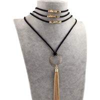 Boho Multilayer Choker Necklace