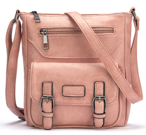 PU Leather Cross Body Bag Quality Messenger Bag