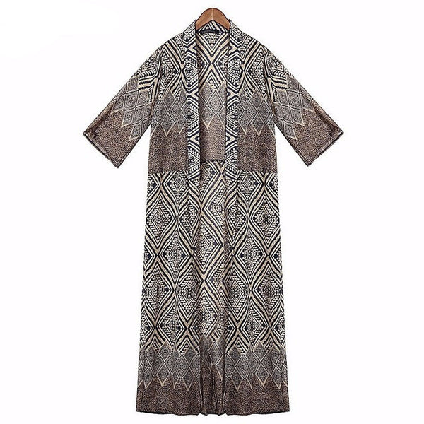 Loose Half Sleeve Kimono/ Cardigan/Cover-up