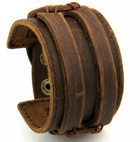 Boho Leather Cuff - Sassy Posh - 1