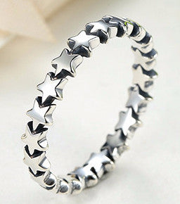 Stackable Ring 100% 925 Sterling Silver - Sassy Posh - 2