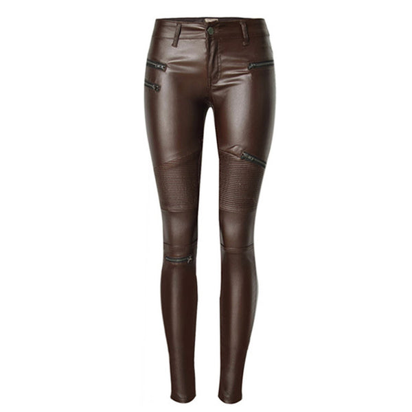 Sexy PU Leather Pants