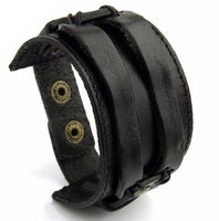 Boho Leather Cuff - Sassy Posh - 2
