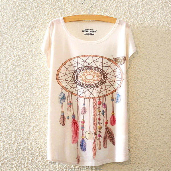 Bohemian Indian T-Shirt - Sassy Posh - 6