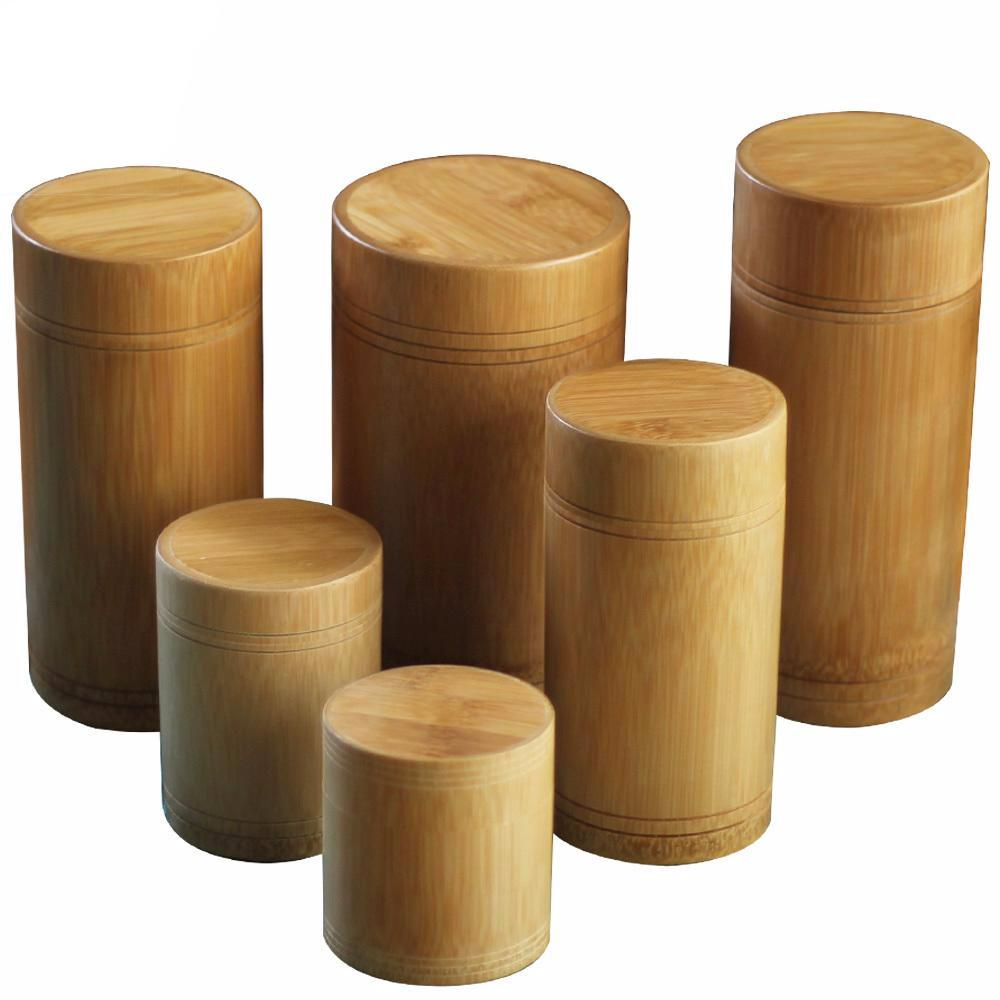 Bamboo Storage Containers