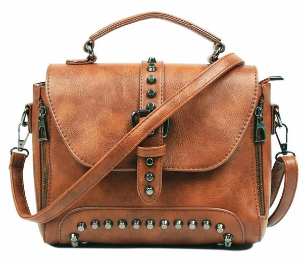 Boho Vintage Leather Bag