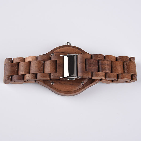 Exclusive ALL Wood Maple Watch - Sassy Posh - 4