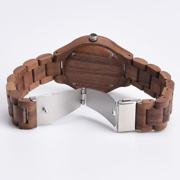 Exclusive ALL Wood Maple Watch - Sassy Posh - 3