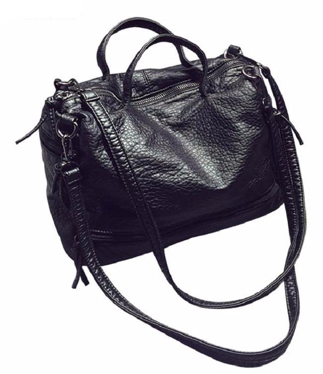 Pu Leather Motorcycle Shoulder Bag