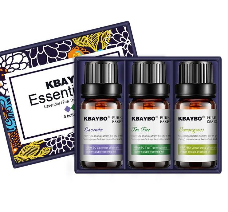 Essential Oil for Diffuser Aromatherapy Humidifier Lavender, Tea Tree,Lemongrass