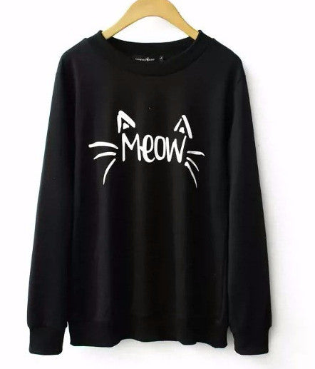 Cat's Meow sweatershirt - Sassy Posh - 4