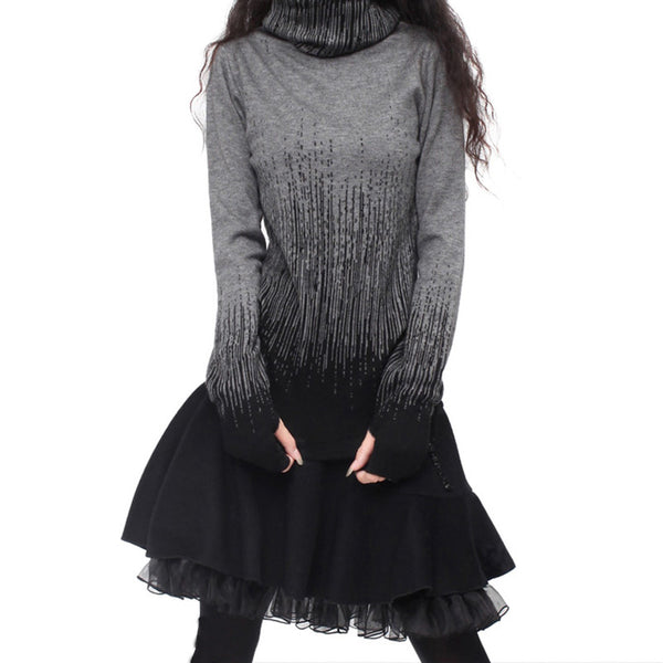 Cashmere Turtleneck Sweater - Sassy Posh - 6