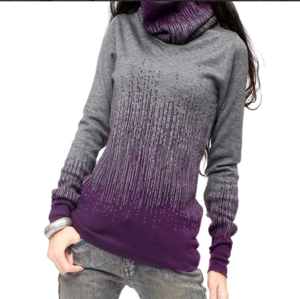 Cashmere Turtleneck Sweater - Sassy Posh - 4