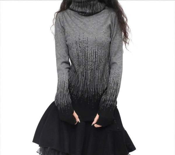 Cashmere Turtleneck Sweater - Sassy Posh - 7