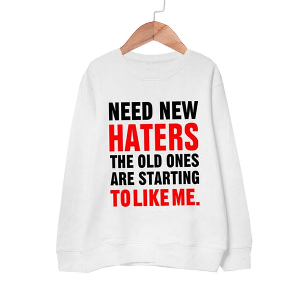 Haters Sweatshirt - Sassy Posh - 11