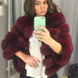 Posh Fox Fur Jacket - Sassy Posh - 1