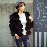 Posh Fox Fur Jacket - Sassy Posh - 4
