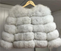 Posh Fox Fur Jacket - Sassy Posh - 3