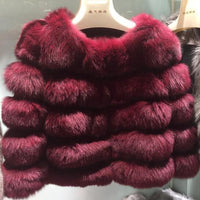Posh Fox Fur Jacket - Sassy Posh - 11