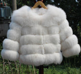 Posh Fox Fur Jacket - Sassy Posh - 9
