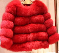 Posh Fox Fur Jacket - Sassy Posh - 12
