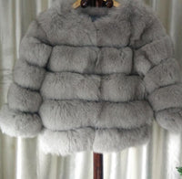 Posh Fox Fur Jacket - Sassy Posh - 5