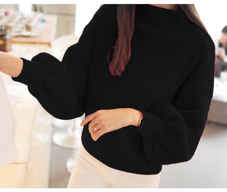 Oversized Cashmere Sweater - Sassy Posh - 5