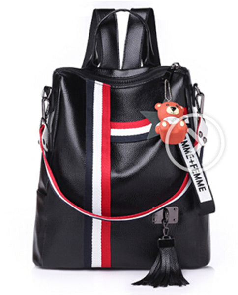 Backpack Soft Leather Shoulder Bag