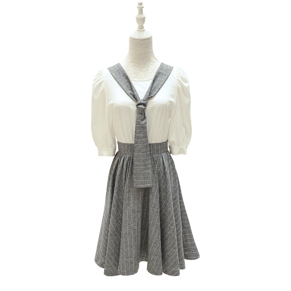 Pleated Baby Doll dress - Sassy Posh - 3