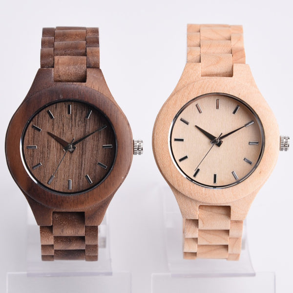 Exclusive ALL Wood Maple Watch - Sassy Posh - 5