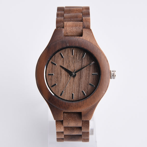 Exclusive ALL Wood Maple Watch - Sassy Posh - 1