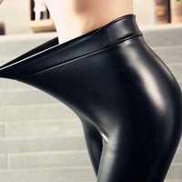 PU Leather Leggings - Sassy Posh - 1