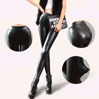 PU Leather Leggings - Sassy Posh - 6