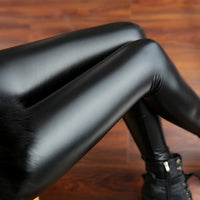 PU Leather Leggings - Sassy Posh - 5