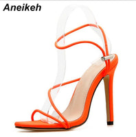 Strappy High Heel Sandals